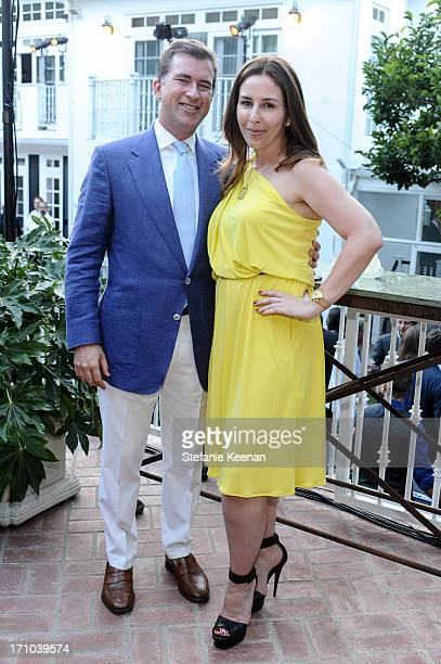 Christian Stracke and Karyn Lovegrove attend 2013 Los Angeles Dance Project Benefit Gala on June 20, 2013 in Los Angeles, California.