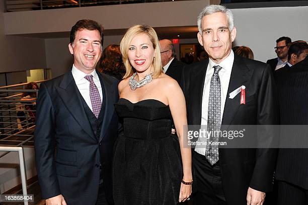 Christian Stracke, Sutton Stracke and Richard Grad attend 2013 REDCAT Gala Honoring Catherine Opie And The Walt Disney Company at REDCAT Theater on...