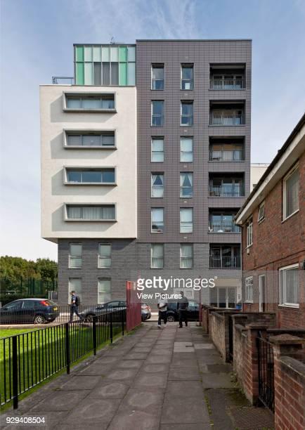 Christian Street housing in Tower Hamlets