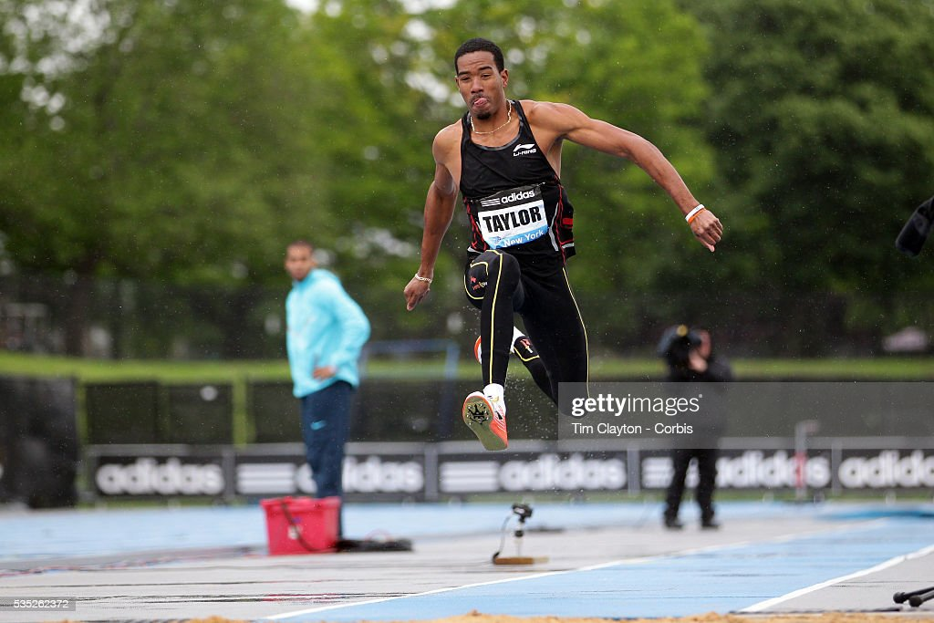 Christian Taylor, USA, in action during the Men's Triple Jump event at the  Diamond