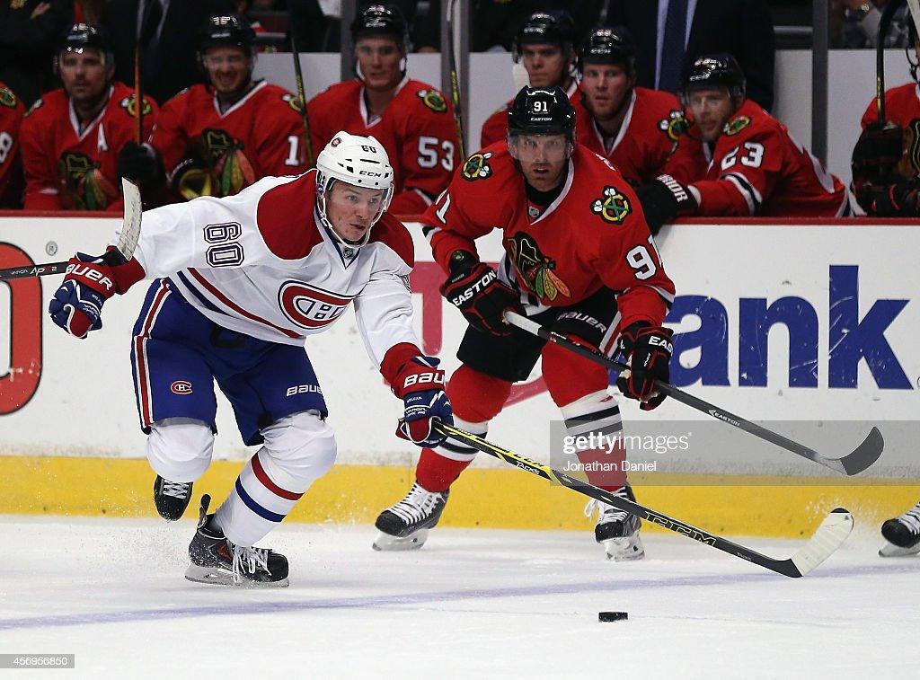 Montreal Canadians v Chicago Blackhawks : News Photo