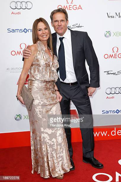 Christian Tramitz and his wife Anette Tramitz attend the Germany Filmball 2013 on January 19 2013 in Munich Germany