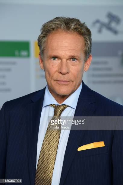 Christian Tramitz attends a photocall during the filming of the new RTL sitcom Schwester Schwester Hier Liegen Sie Richtig at old Wannsee clinic on...