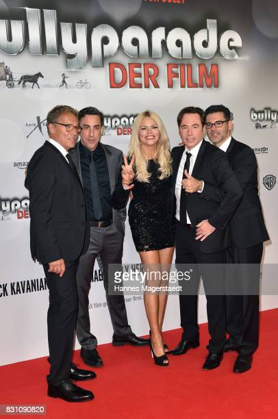 Christian Tramitz Christian Schubert Diana Herold Michael Bully Herbig and Rick Kavanian during 'Bullyparade Der Film' premiere at Mathaeser...