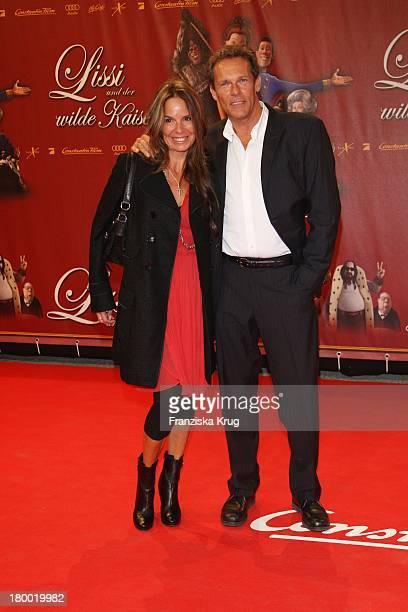 Christian Tramitz Und Ehefrau Anette Bei Der Premiere Von 'Lissi Und Der Wilde Kaiser' In Der Residenz In München