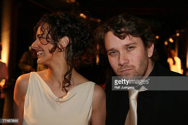Christian Ulmen and his wife Huberta attend the German Comedy Award 2007 at the Coloneum October 23, 2007 in Cologne, Germany.