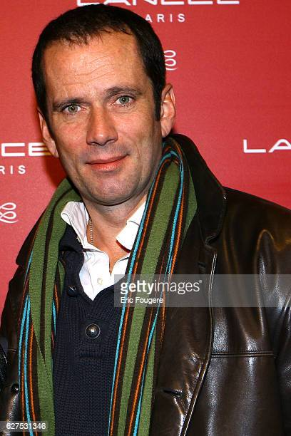 Christian Vadim at the Lancel Red Party held at the Olympia in Paris