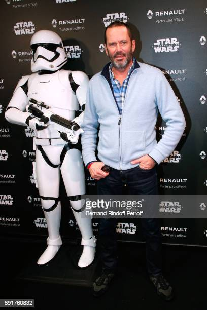 Christian Vadim attends the Star Wars x Renault Party at Atelier Renault on December 13 2017 in Paris France