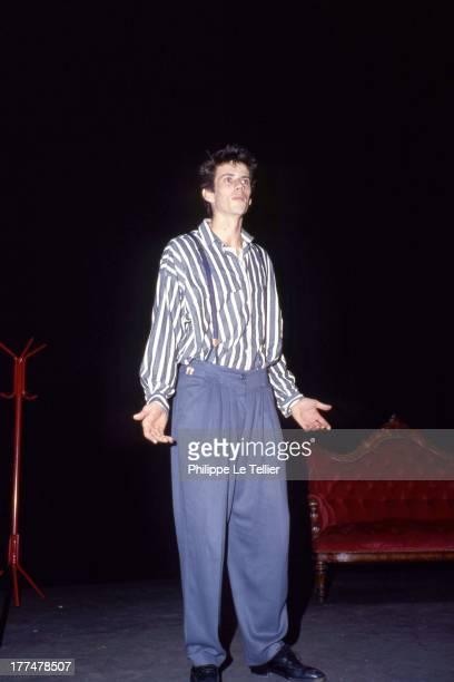 Christian Vadim celebrates his birthday at the Palace Paris 1985 Christian Vadim fete son anniversaire au Palace