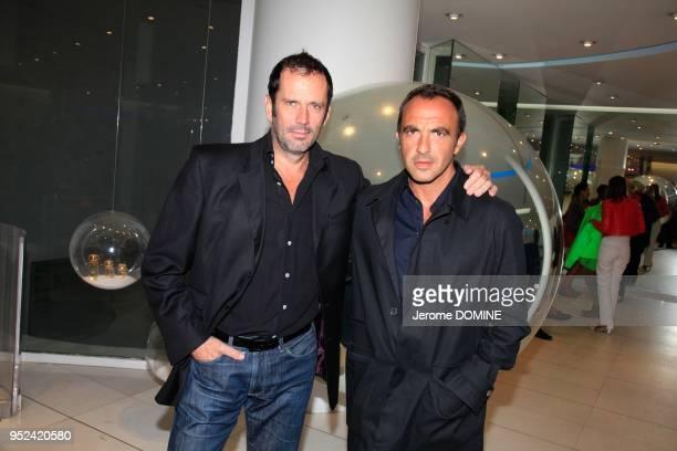 Christian Vadim et Nikos Aliagas