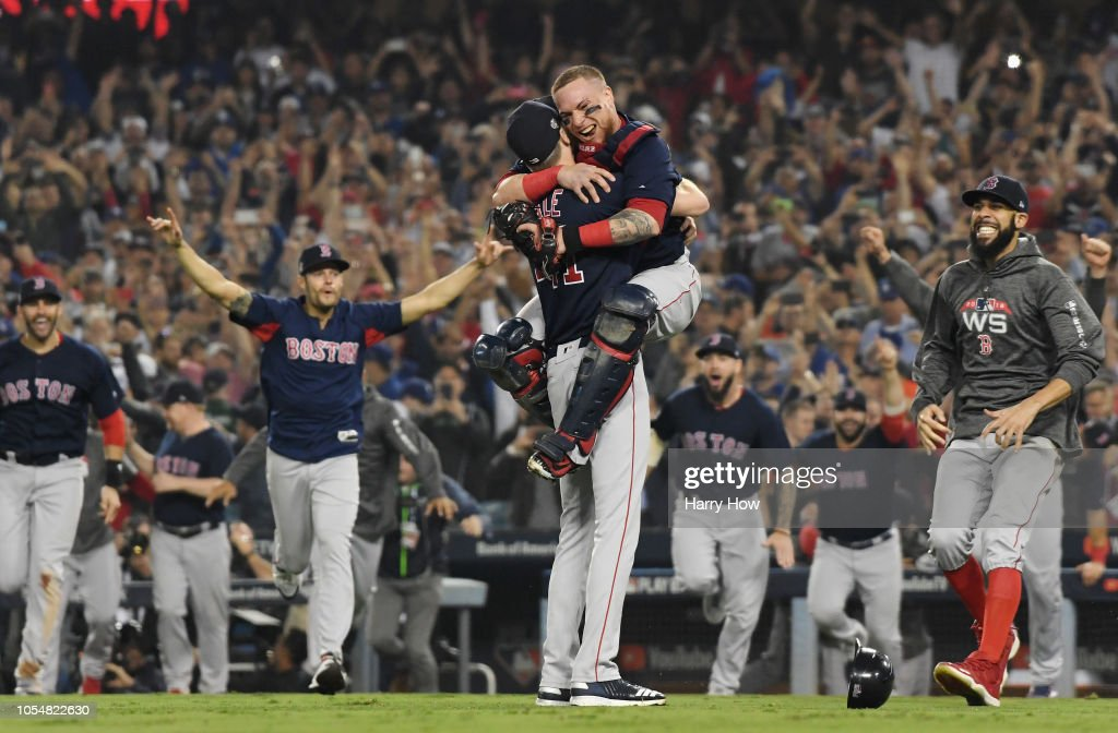 World Series - Boston Red Sox v Los Angeles Dodgers - Game Five : News Photo