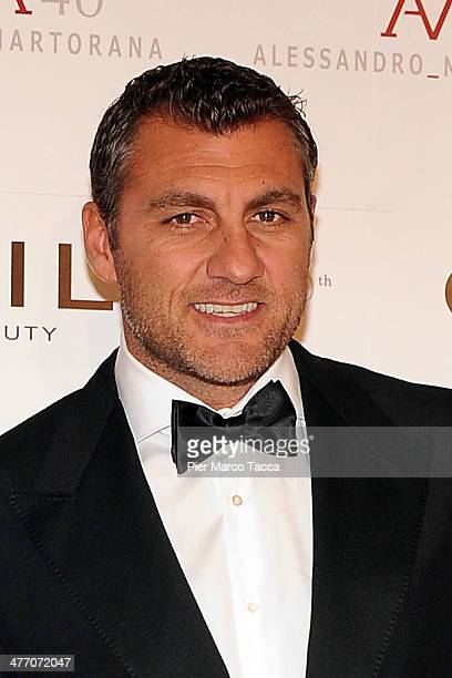 Christian Vieri attends the Alessandro Martorana birthday party at Four Seasons Hotel on March 6 2014 in Milan Italy