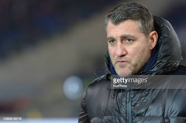 Christian Vieri during the Italian Serie A football match between SS Lazio and FC Juventus at the Olympic Stadium in Rome on january 27 2019