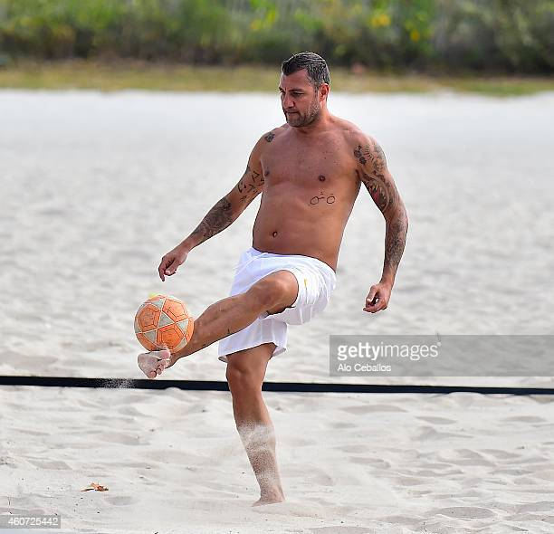 Christian Vieri is seen on December 20 2014 in Miami Beach Florida