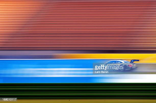 Christian Vietros of Germany and Mercedes AMG drives during the training session for the first round of the DTM 2013 German Touring Car Championship...