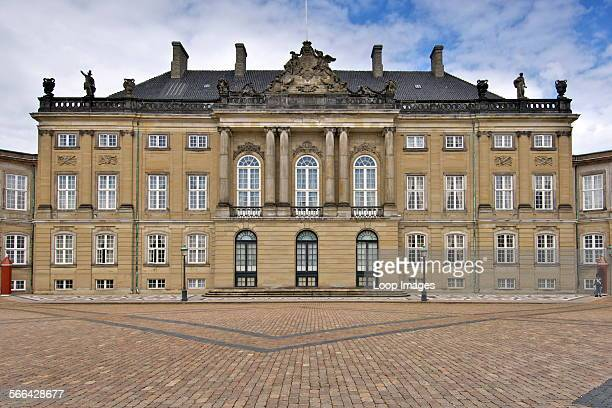 Christian VIIIs Palace in Copenhagen is the winter residence of the Danish Royal Family