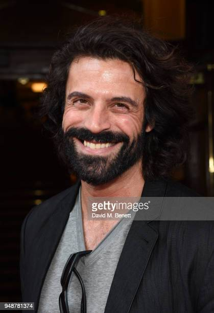 Christian Vit arrives for the Gala Night performance of Bat Out Of Hell The Musical at the Dominion Theatre on April 19 2018 in London England