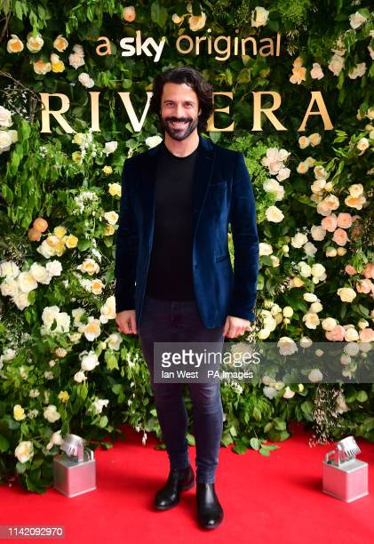 Christian Vit attending the season two of Riviera Premiere hosted at Saatchi Gallery on 7 May Series 2 airs on Sky Atlantic and NOW TV 23 May in...