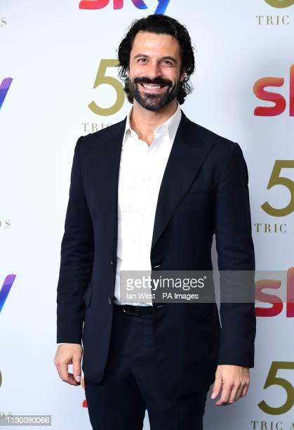 Christian Vit attending the TRIC Awards 2019 50th Birthday Celebration held at the Grosvenor House Hotel London