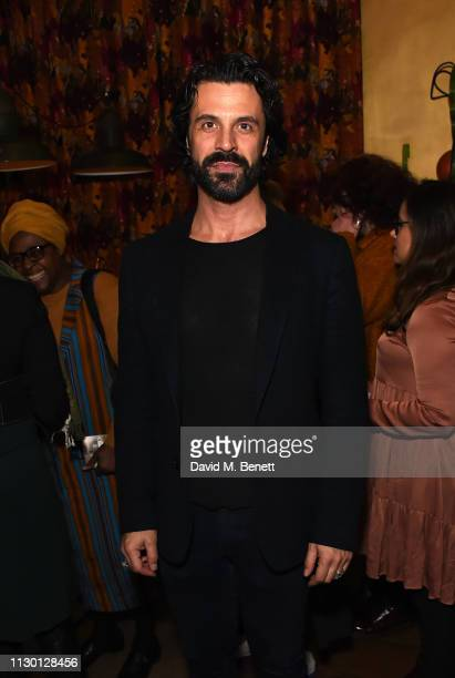 Christian Vit attends a special screening of a new short film directed by Rankin against FGM hosted by Waris Dirie and Coco de Mer at Sketch on March...