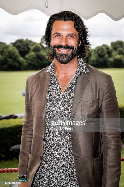 Christian Vit attends at the Lux Afrique Polo Day at the Ham Polo Club on August 3 2019 in Richmond England