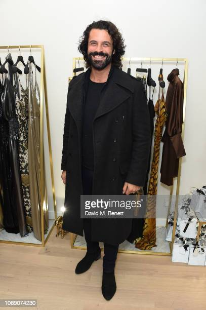 Christian Vit attends Jitrois X Alina London Collaboration Launch Party at Fashion Joint on December 6 2018 in London England