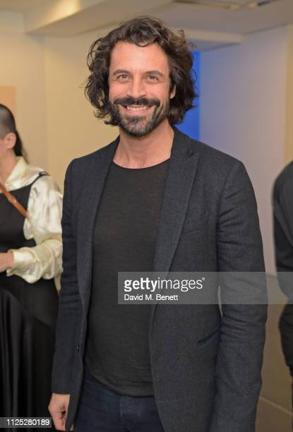 Christian Vit attends Maison Margiela's 'Reality Inverse' screening at The Serpentine Gallery on February 16 2019 in London England