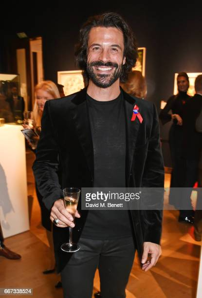 Christian Vit attends Terrence Higgins Trust The Auction in support of people living with HIV at Christie's on April 11 2017 in London England