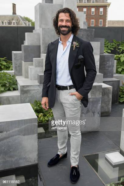 Christian Vit attends the Chelsea Flower Show 2018 on May 21 2018 in London England