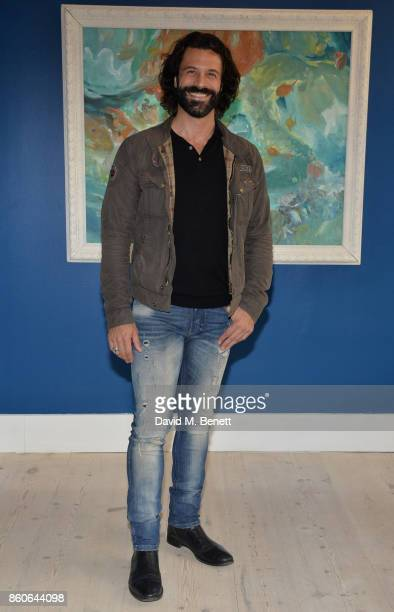 Christian Vit attends the Dorothy Circus Gallery 10th anniversary exhibition Pages From Mind Travellers Diaries on October 12 2017 in London England
