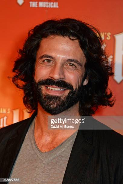 Christian Vit attends the Gala Night after party for Bat Out Of Hell The Musical at the Bloomsbury Ballroom on April 19 2018 in London England