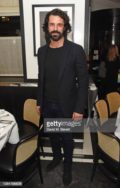 Christian Vit attends the launch of John Swannell's photography exhibition at Le Caprice on February 5 2019 in London England