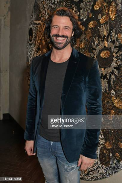 Christian Vit attends the launch of The Mandrake's 2019 Artist In Residence programme hosted by Azzi Glasser Alan Carr at YOPO in The Mandrake Hotel...
