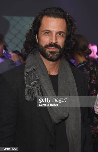 Christian Vit attends the Models 1 50th anniversary party at Spring Studios on October 25 2018 in London England