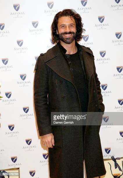 Christian Vit attends the new flagship store launch of Aspinal on Regent's Street St James's on December 5 2017 in London England