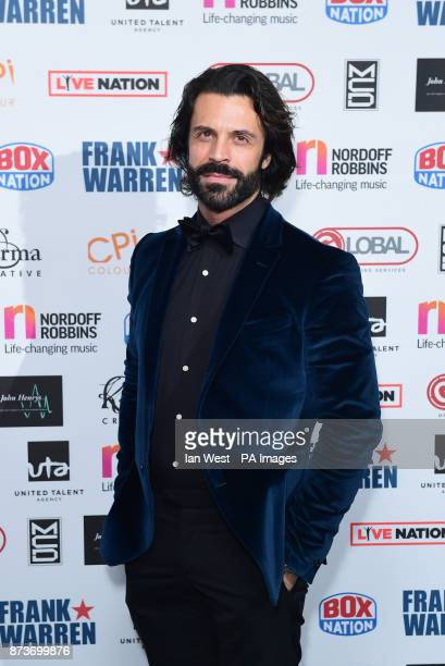 Christian Vit attends the Nordoff Robbins Championship Boxing Dinner at the London Hilton