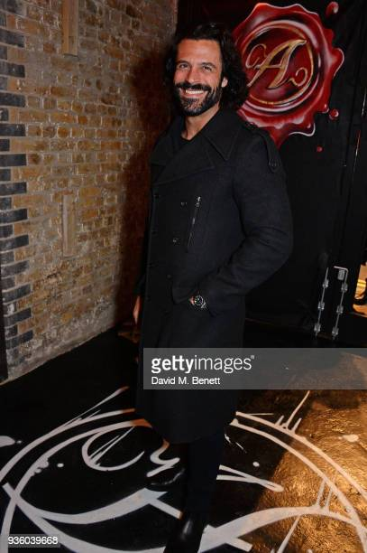 Christian Vit attends The Perfumer's Story evening of Scentsory delights hosted by Aures London Azzi Glasser at Sensorium on March 21 2018 in London...
