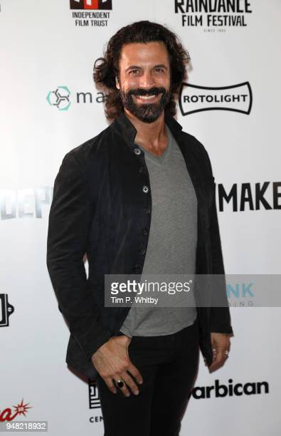 Christian Vit attends The Raindance Independent Filmmaker's Ball at Cafe de Paris on April 18 2018 in London England