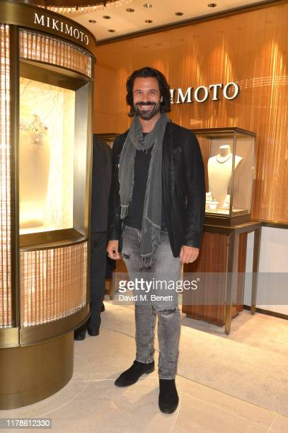 Christian Vit attends the reopening of the Mikimoto Bond Street Boutique on October 02 2019 in London England Guests were welcomed by Mr Sotaro...