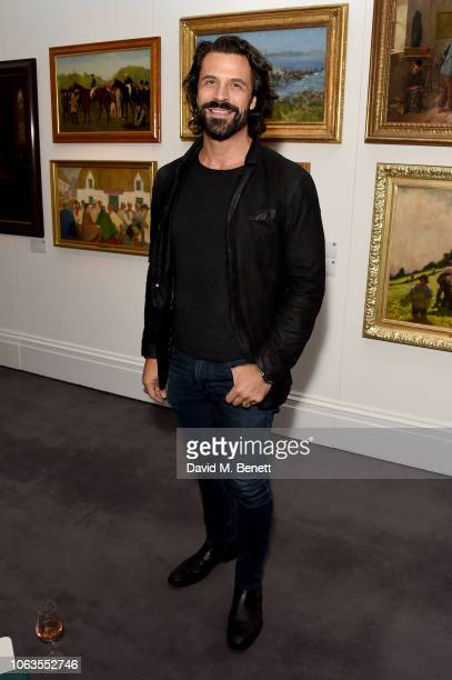 Christian Vit attends the #SheInspiresMe Auction In Support Of Women For Women International at Sotheby's on November 19 2018 in London England