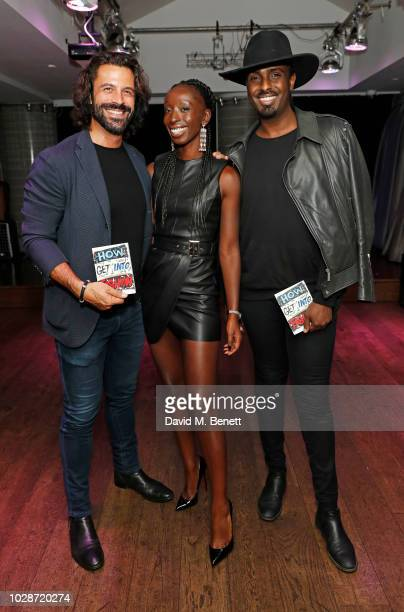 Christian Vit Eunice Olumide and Mason Smillie attend an exclusive private book signing with supermodel MBE Eunice Olumide for her new book How To...