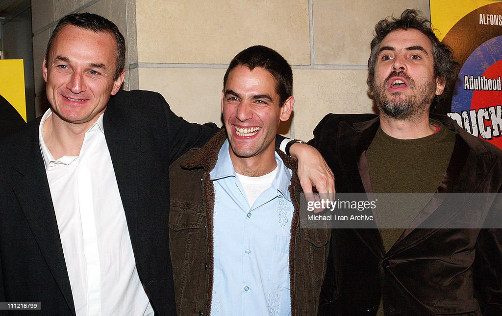 Christian Vladelievre, Producer, Fernando Eimbcke, Director, and Alfonso Cuaron