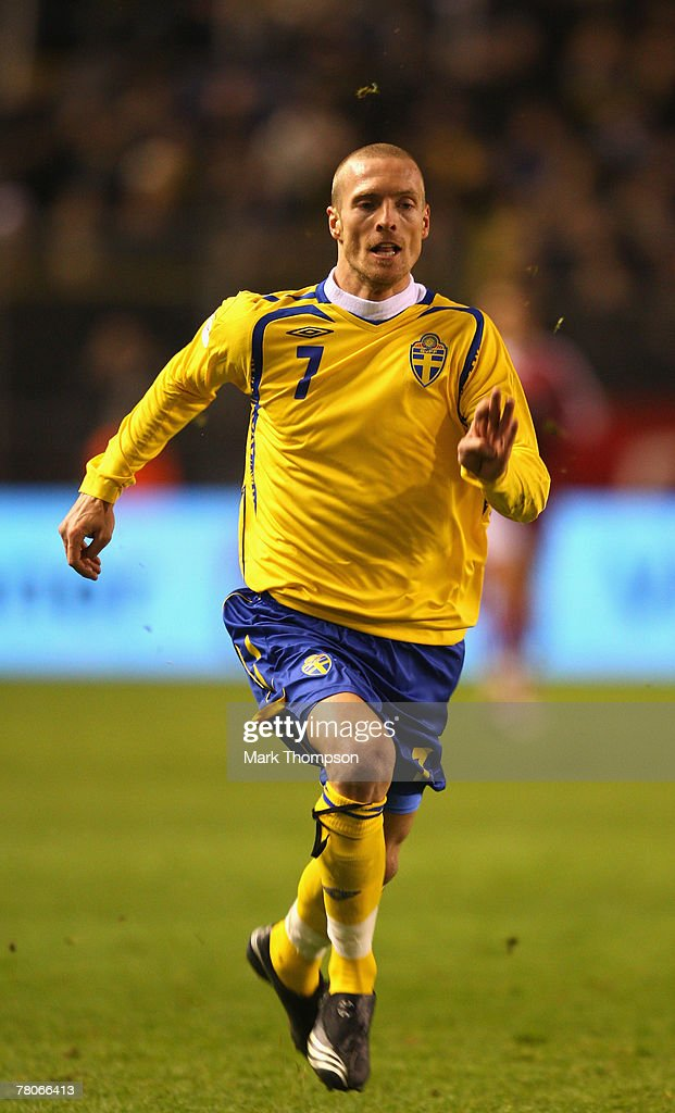 Euro2008 Qualifier - Sweden v Latvia : News Photo