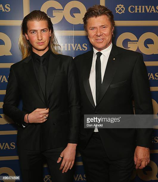 Christian Wilkins and Richard Wilkins arrive ahead of the 2015 GQ Men Of The Year Awards on November 10, 2015 in Sydney, Australia.