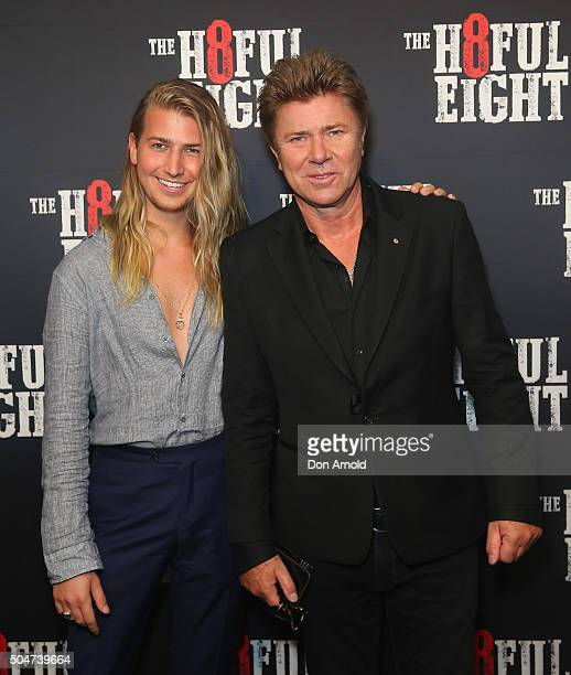 Christian Wilkins and Richard Wilkins arrive ahead of the Australian premiere of The Hateful Eight at Event Cinemas George Street on January 13, 2016...