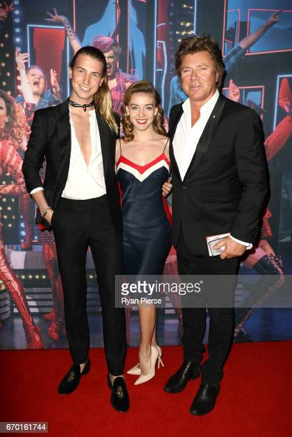 Christian Wilkins and Richard Wilkins arrives for the opening night of Cyndi Lauper's Kinky Boots at Capitol Theatre on April 19 2017 in Sydney...