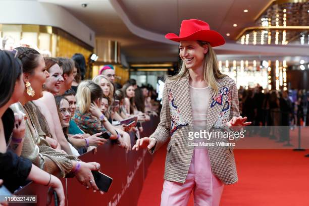 Christian Wilkins arrives for the 33rd Annual ARIA Awards 2019 at The Star on November 27 2019 in Sydney Australia