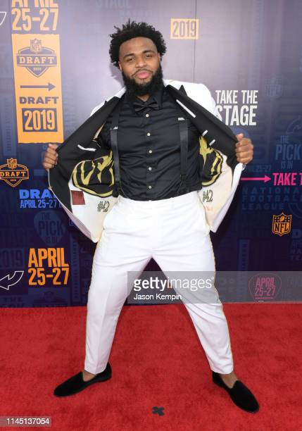 Christian Wilkins attends the 2019 NFL Draft on April 25 2019 in Nashville Tennessee