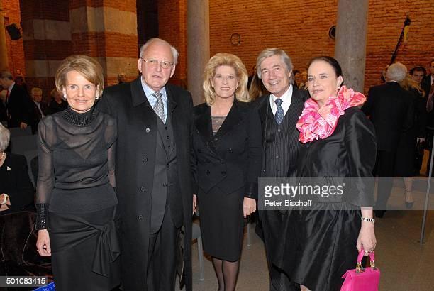Christian Wolff Ehefrau Marina Dr Roman Herzog dessen Ehefrau Freifrau Alexandra von Berlichingen Johanna HaertingToger AdventsBenefizKonzert zu...