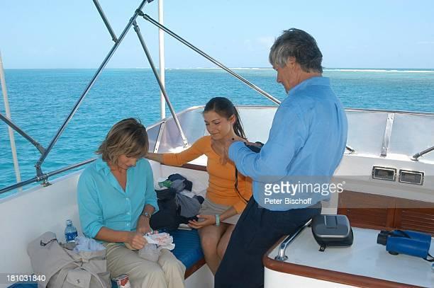 Christian Wolff Henriette RichterRöhl Maria Bachmann ZDFFilm Eine Mutter zum Geburtstag Puerto Morelos/Mexico/Golf von Mexico/Mittelamerika...